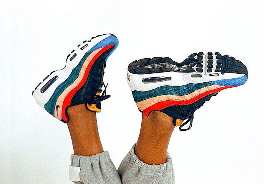 New York 5d6b8 581c0 La Nike Air Max 95 Reçoit un Traitement Coloré avec le