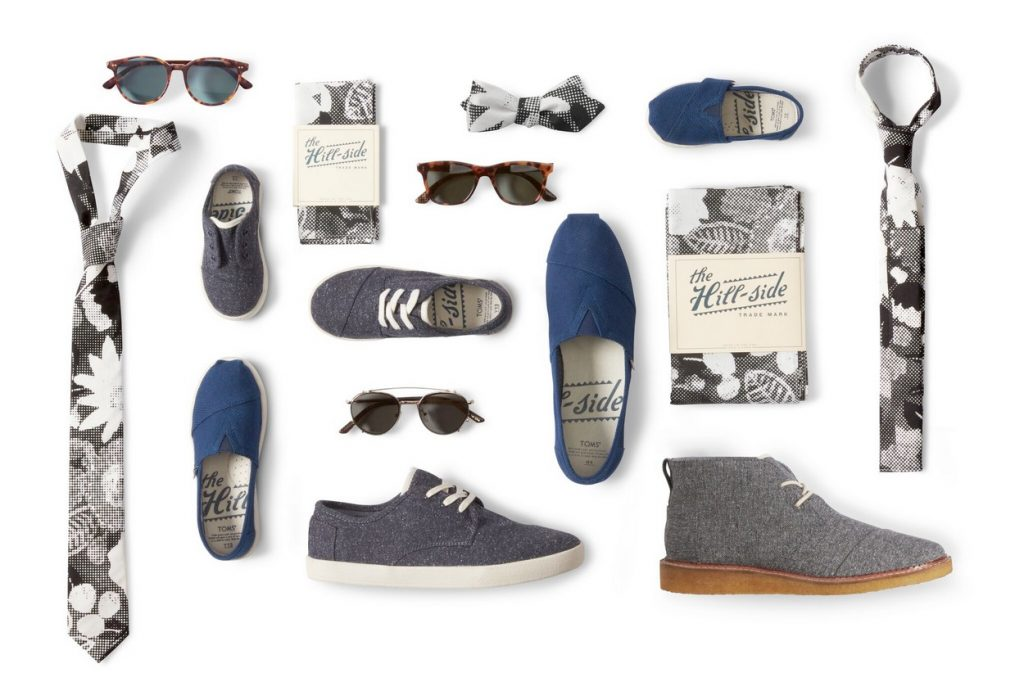 TOMS a Collaboré avec The Hill-Side sur une Collection Capsule