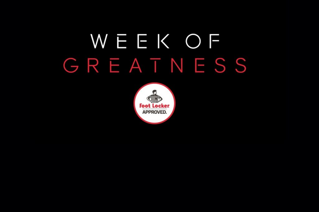 Foot Locker lance la nouvelle édition de la Week of Greatness