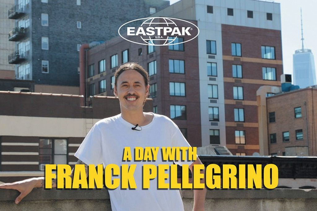 Eastpak Présente A DAY WITH Franck Pellegrino