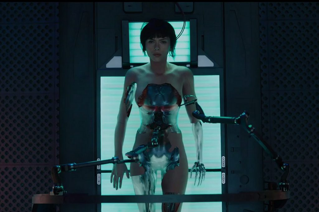 Première Bande-Annonce de Ghost In The Shell