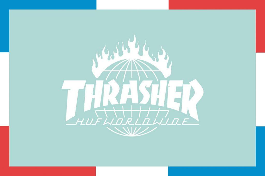 "Collaboration HUF x Thrasher Magazine ""Tour De Stoops"""