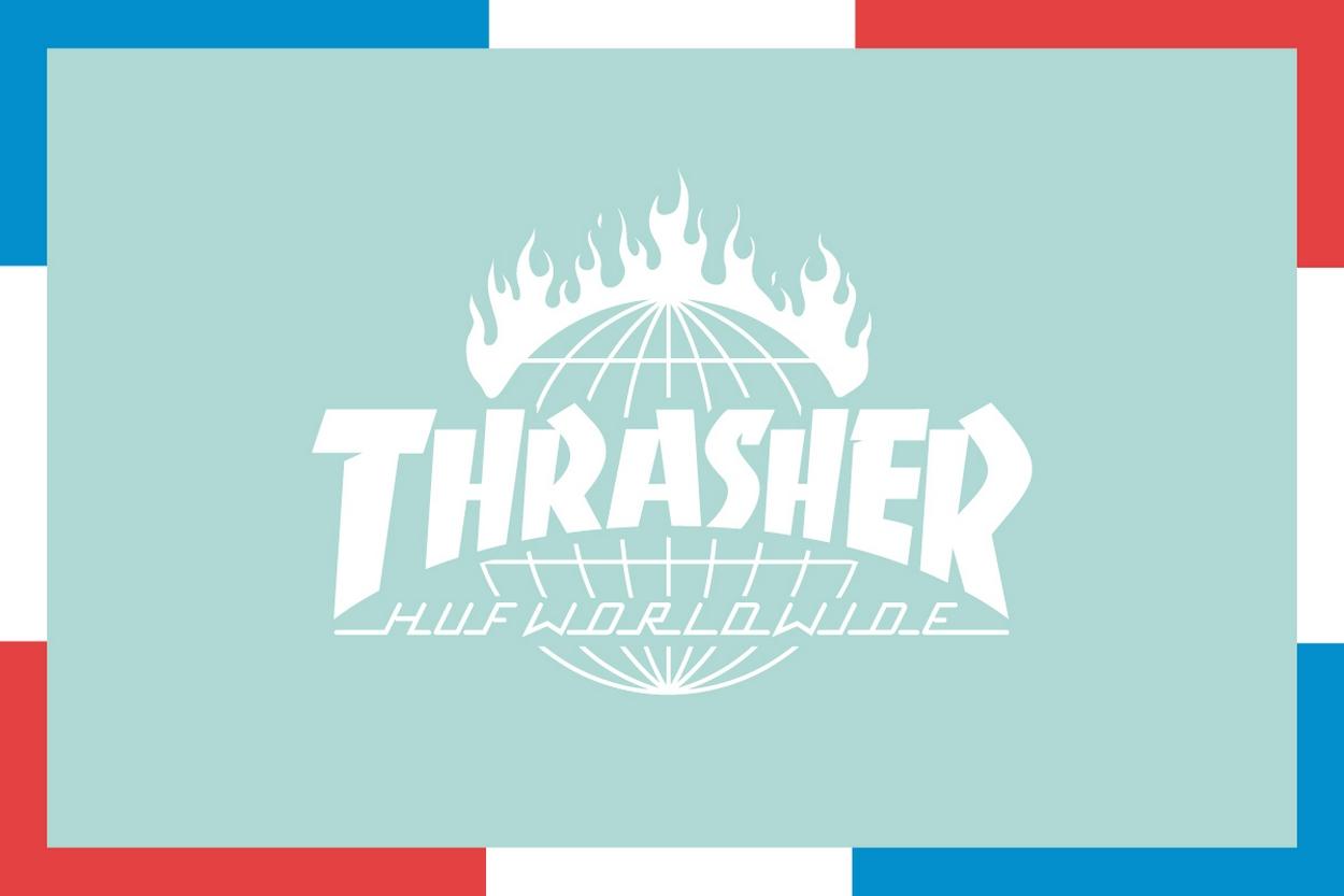 Collaboration Huf X Thrasher Magazine Quot Tour De Stoops Quot