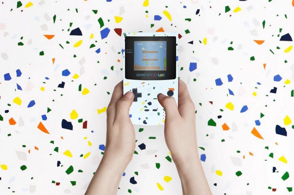 Lekki lance la Game Boy vintage édition spéciale Terrazzo
