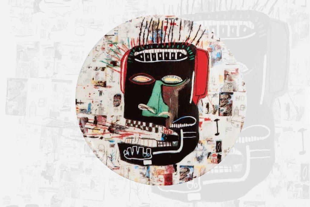 "Ligne Blanche Paris x Jean-Michel Basquiat ""Glenn"""