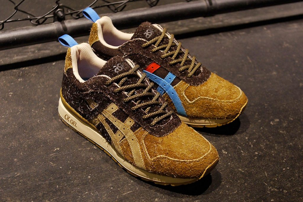 "Mita Sneakers x Asics GT-II ""Squirrel"""