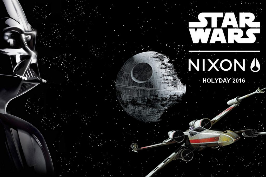NIXON lance la collection Star Wars Holiday 2016