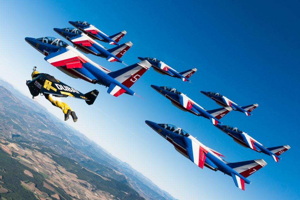 Patrouille de France x Jetman