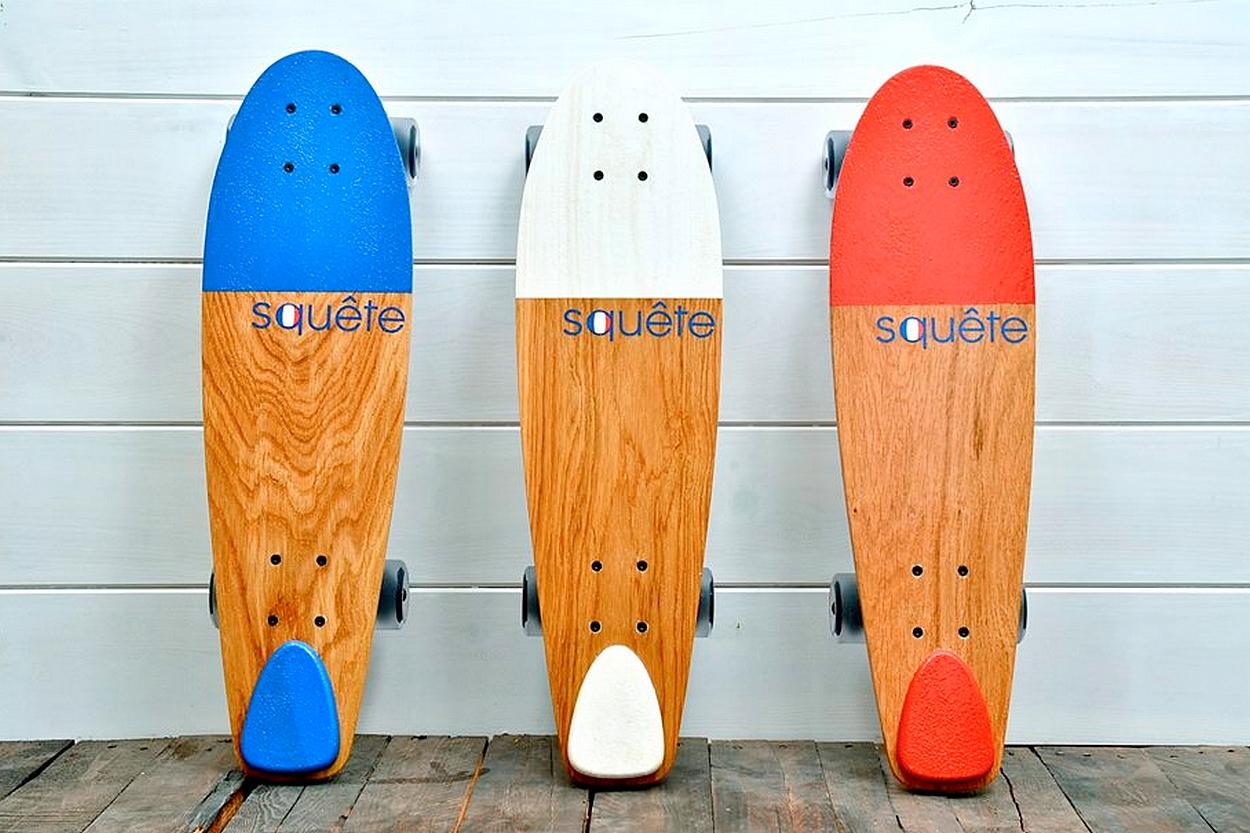 squ te le skateboard 100 made in france. Black Bedroom Furniture Sets. Home Design Ideas