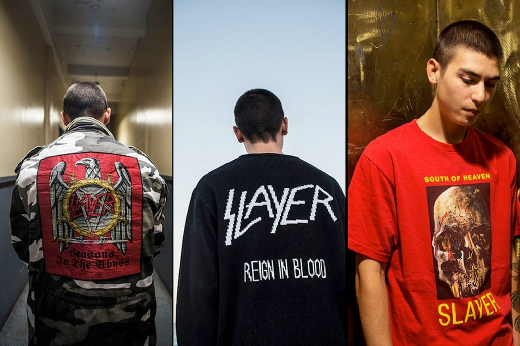 Collection Slayer x Supreme Automne 2016