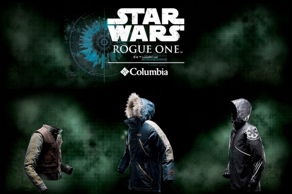Star Wars: Rogue One Jackets by Columbia