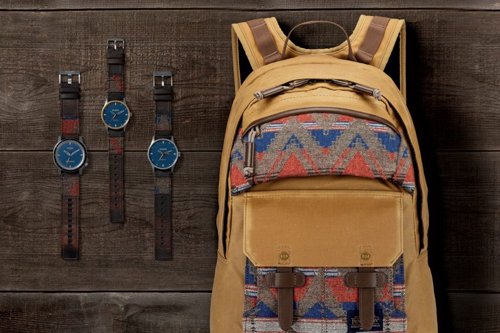 Collection NIXON x Pendleton