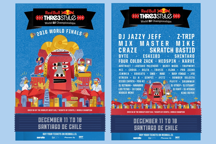Red Bull Thre3Style 2016