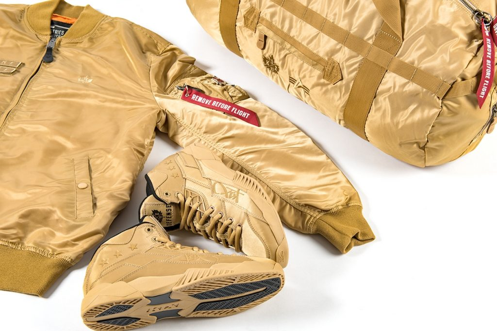 "Alpha Industries x K1X ""The Gold Rush Pack"""