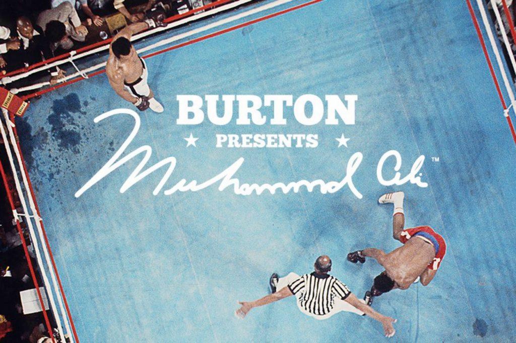 Nouvelle board Burton x Mohamed Ali en édition limitée