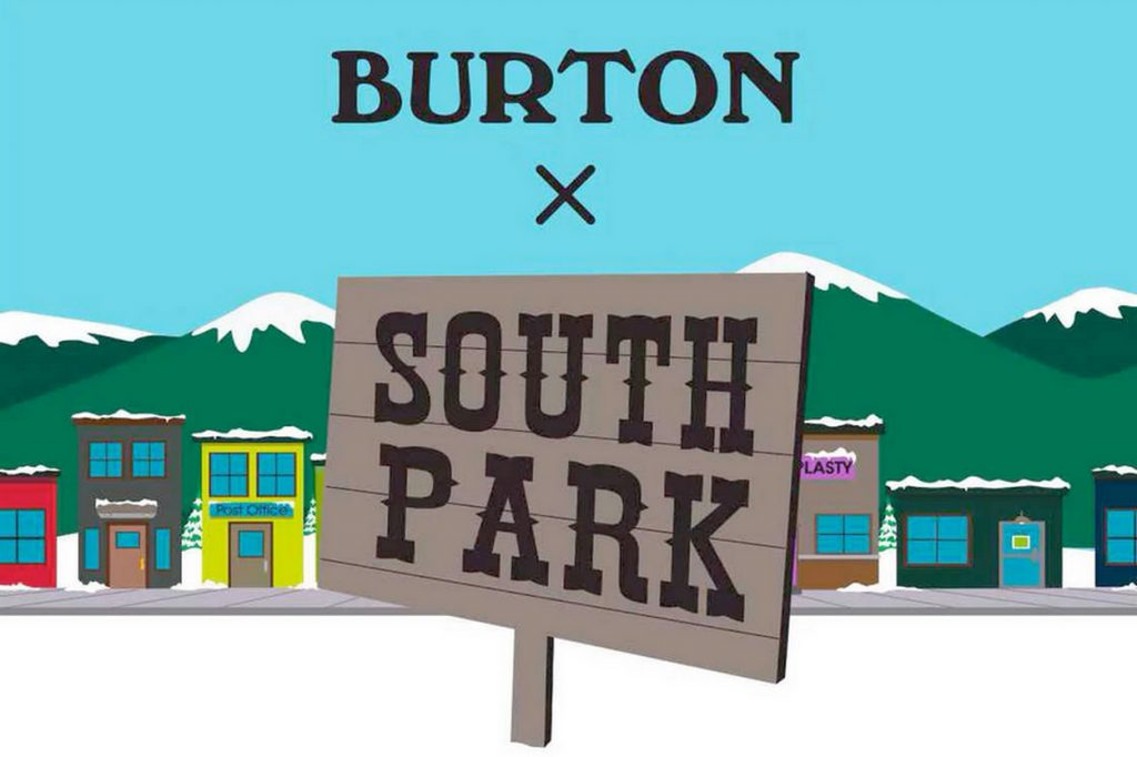 Collection Burton x South Park