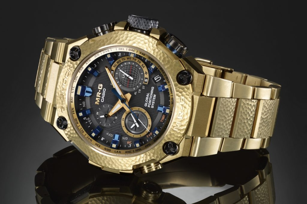 "G-Shock MRG-G1000HG-9A ""Gold Hammer Tone"""