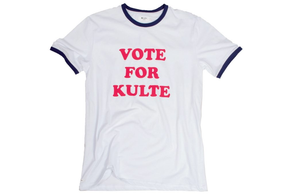 "Collection capsule Kulte ""Vote For Kulte"" Automne/Hiver 2016"