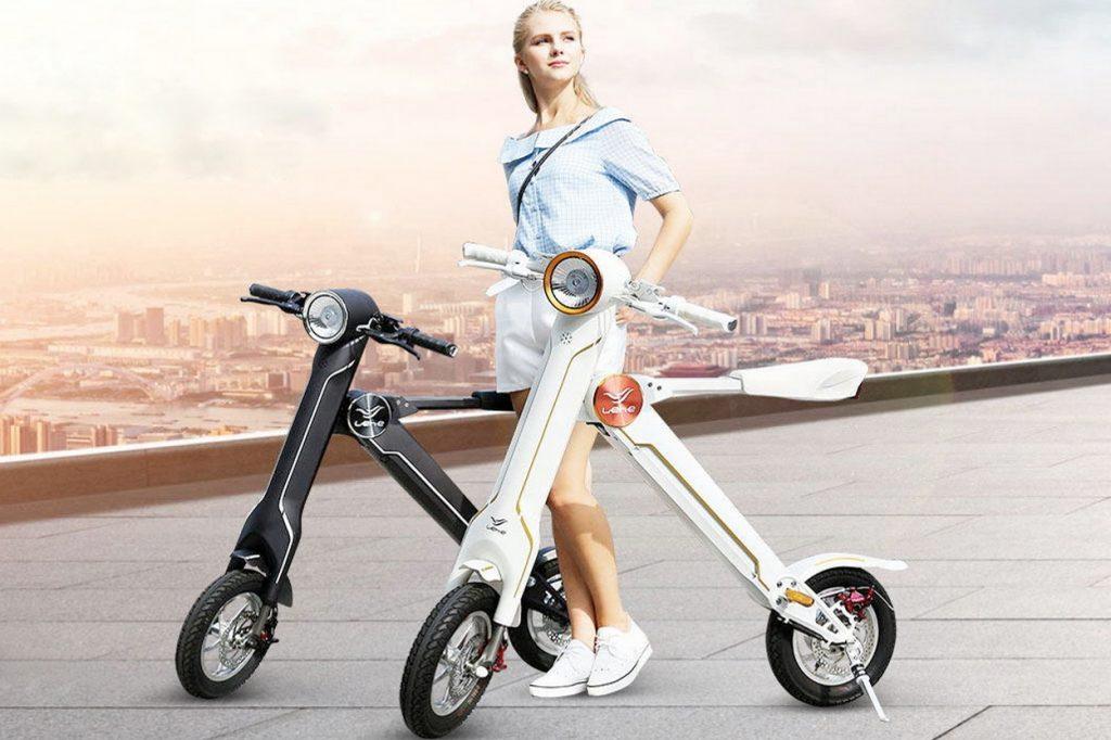 LeHe K1, le e-scooter pliable