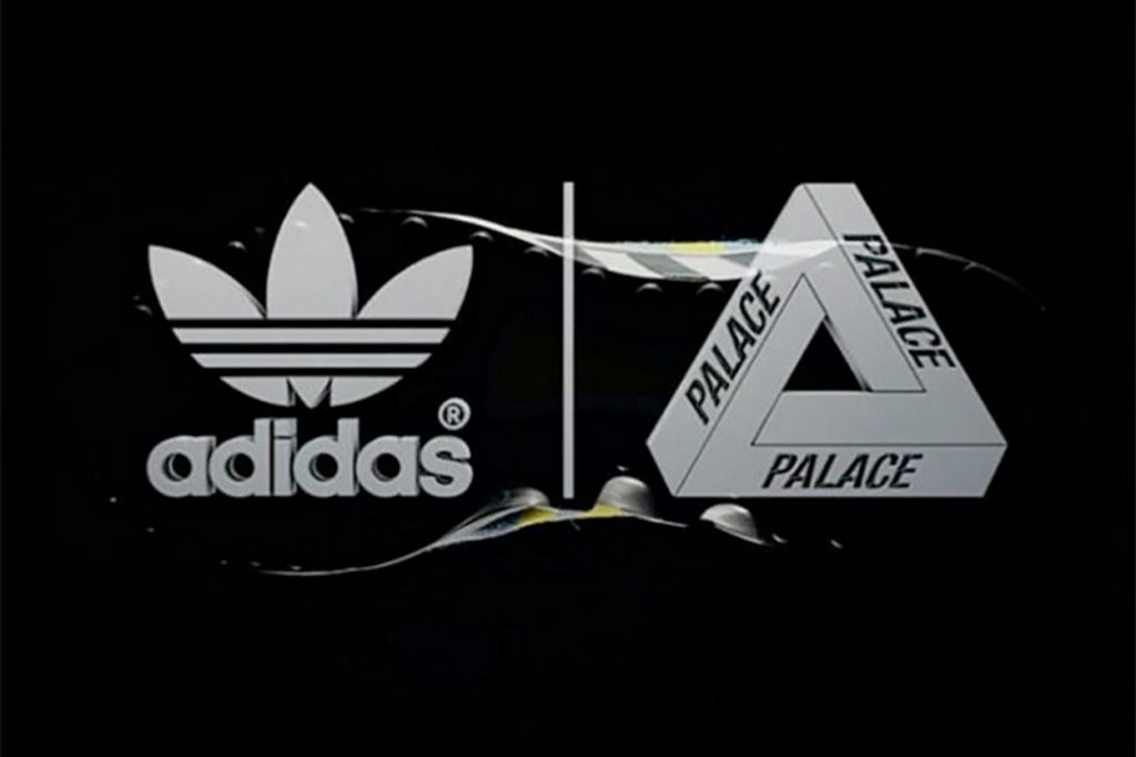 adidas x Palace Skateboards sur des sneakers