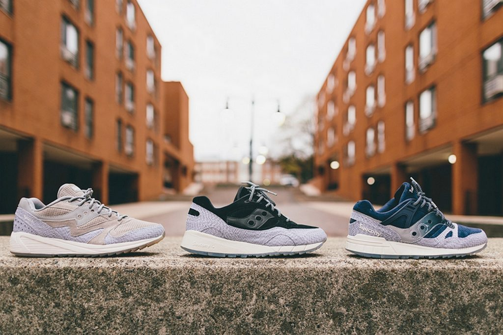 "Saucony Originals ""Dirty Snow"" Pack"