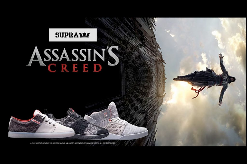 SUPRA x Assassin's Creed