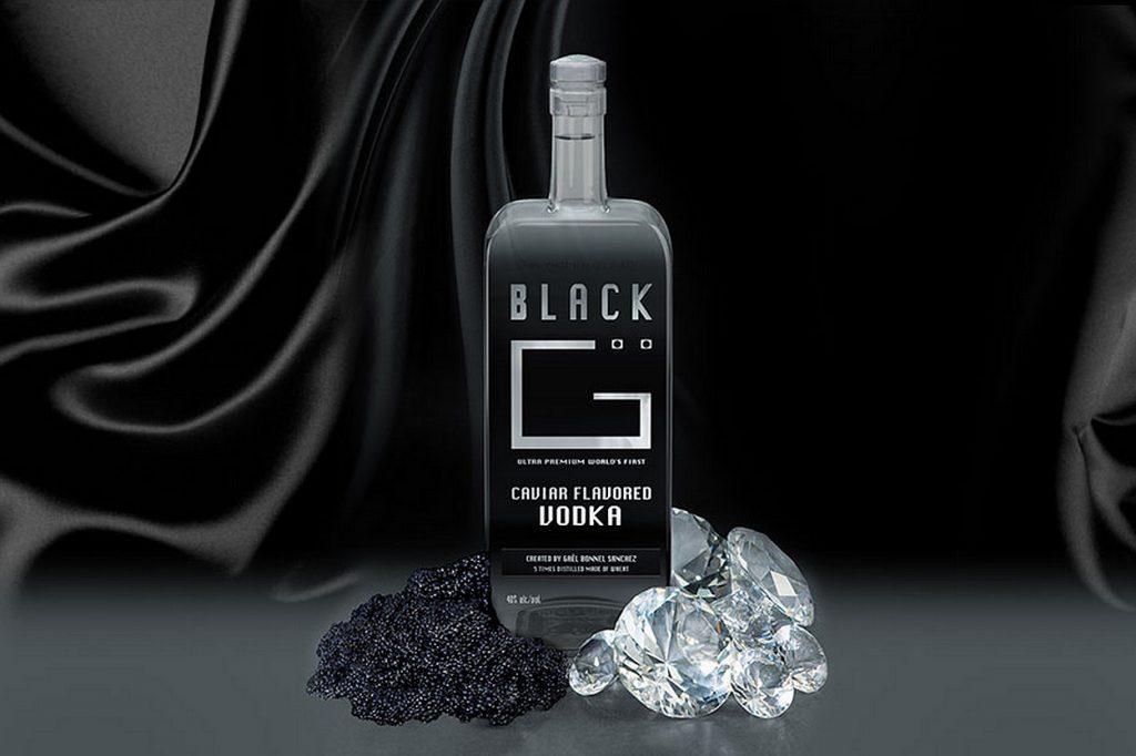 Black G, la vodka d'exception au caviar