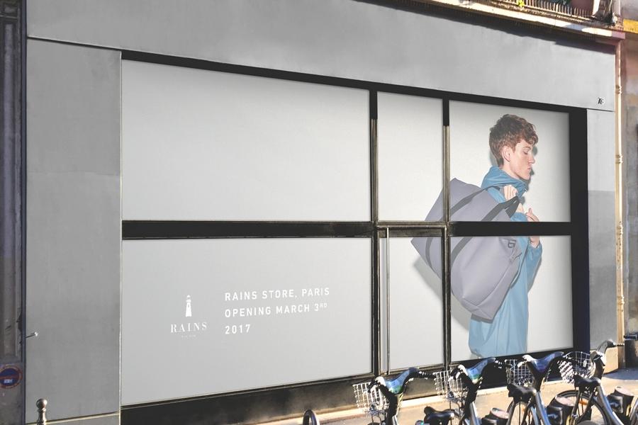 RAINS va ouvrir un concept store à Paris