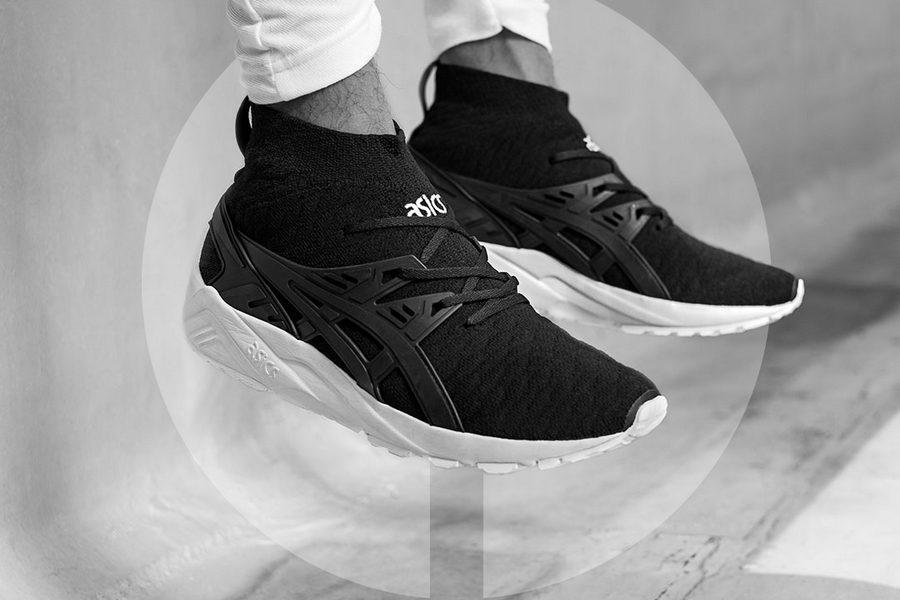 asics kayano trainer noir