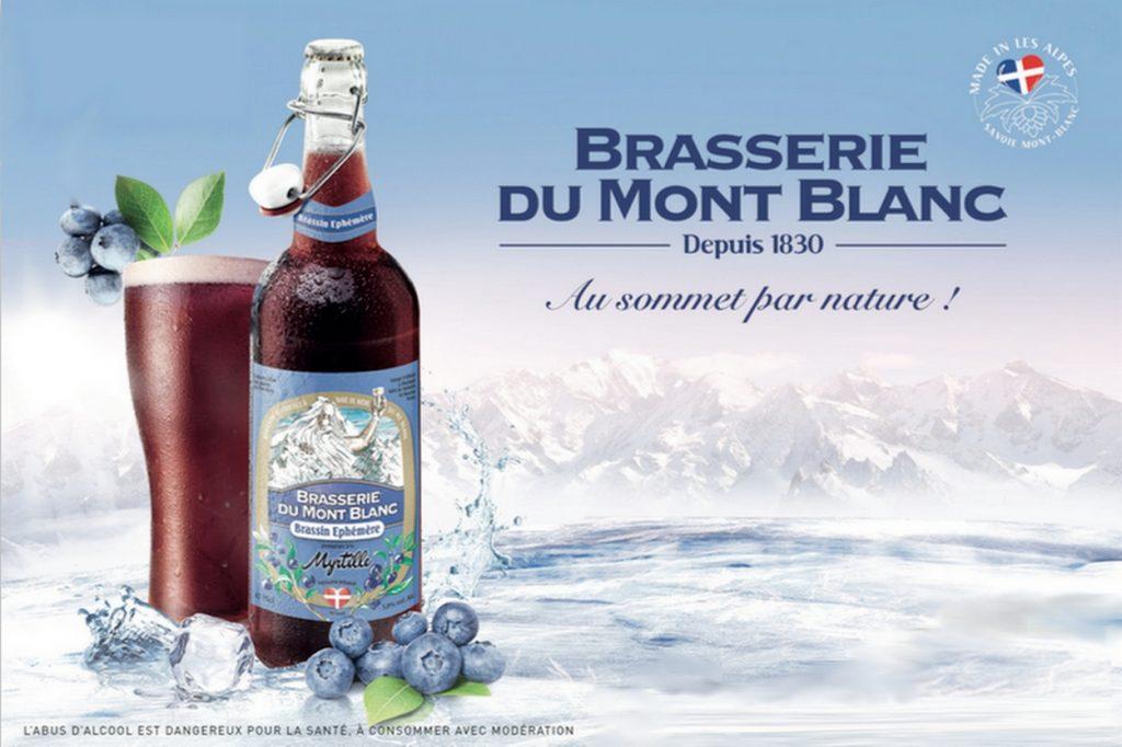 Brasserie du Mont Blanc Brassin Myrtille
