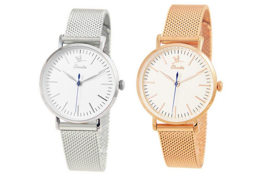 Charlie Watch lance son 1er modèle de montre en maille milanaise