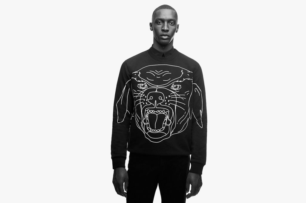 "Collection capsule Givenchy ""Rottweiler"" Printemps 2017"