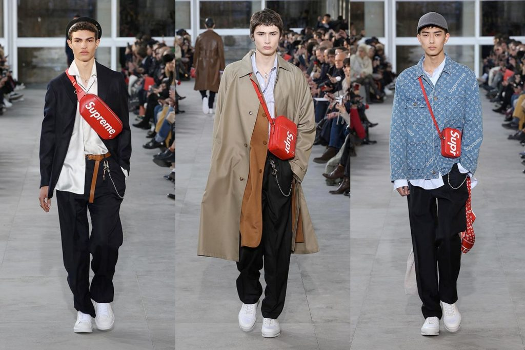 Louis Vuitton x Supreme Fashion Show