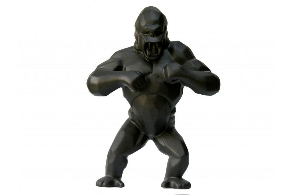 Richard Orlinski x K.Olin Tribu Wild Kong Black