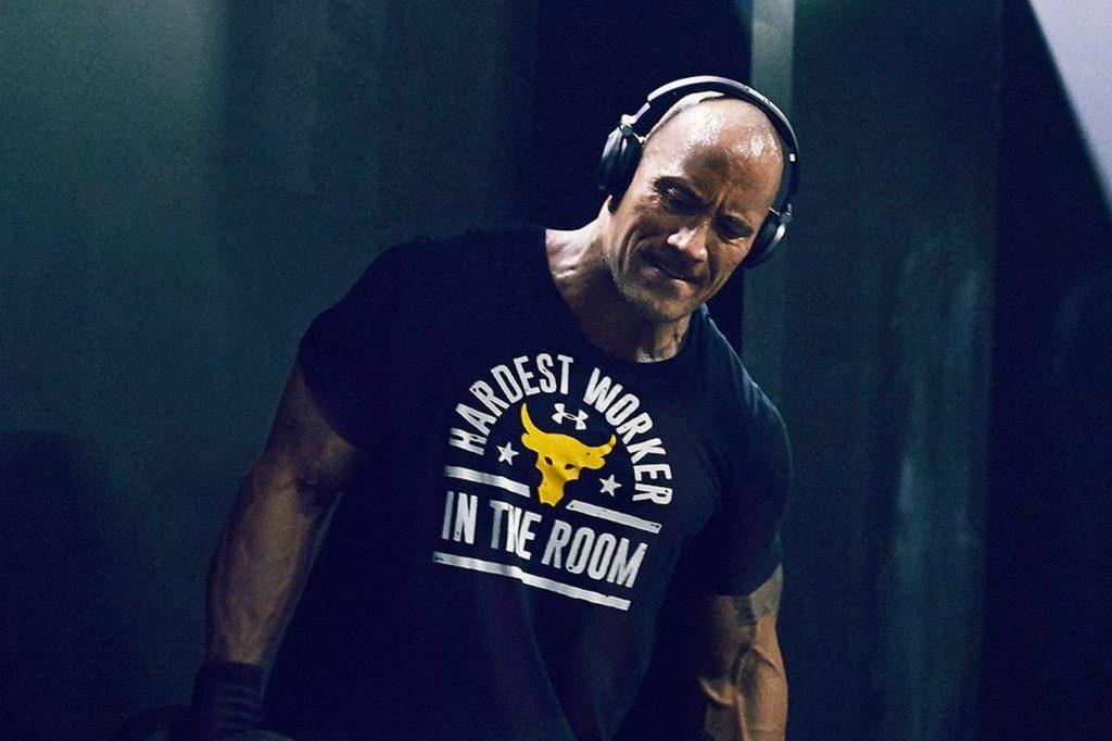 """Partenariat mondial entre Under Armour et Dwayne """"The Rock"""" Johnson"""