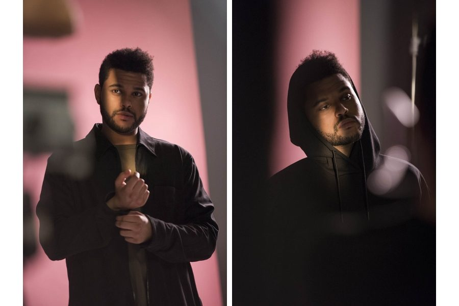 H&M-Spring-Icons-selected-by-The-Weeknd-backsatge-02