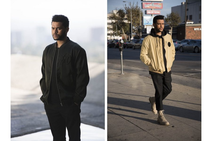 H&M-Spring-Icons-selected-by-The-Weeknd-backsatge-04