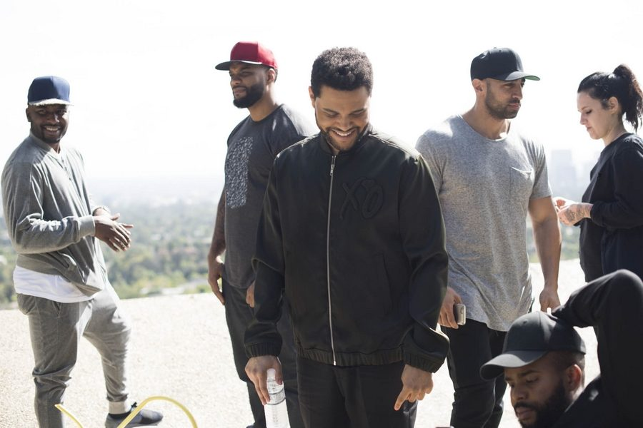 H&M-Spring-Icons-selected-by-The-Weeknd-backsatge-09