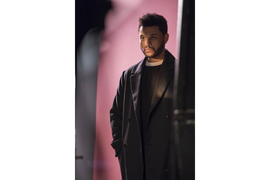 H&M-Spring-Icons-selected-by-The-Weeknd-backsatge-10