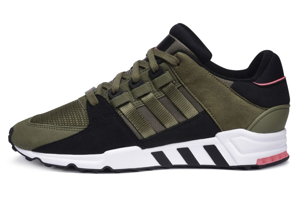 adidas EQT Running Support 91 Olive Cargo-Black-Turbo en exclu chez Foot Locker