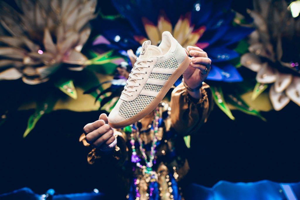 "Sneaker Politics x adidas Gazelle PK ""Mardi Gras"""