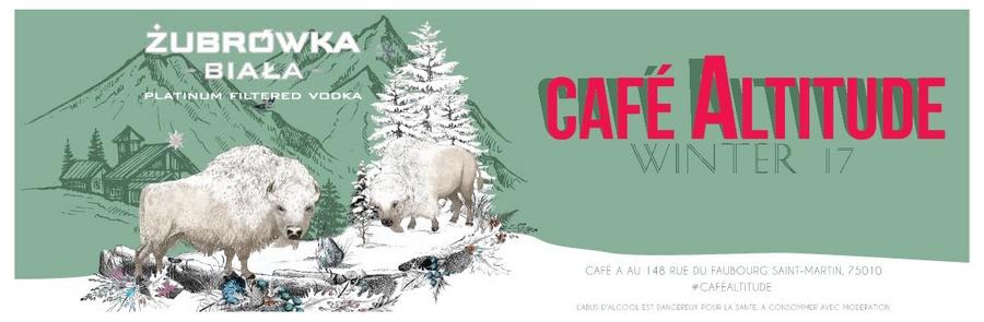 Café Altitude by Zubrowka Vodka