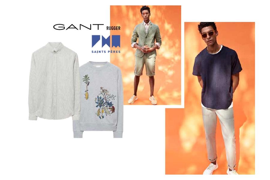 Pop-up store GANT Rugger x PHM Saints Pères