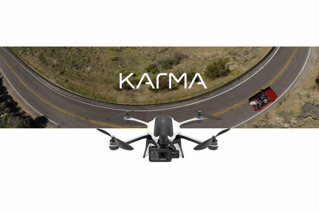 GoPro signe le grand retour de son drone Karma