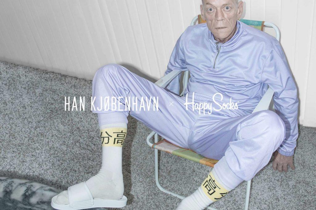 Han Kjøbenhavn x Happy Socks