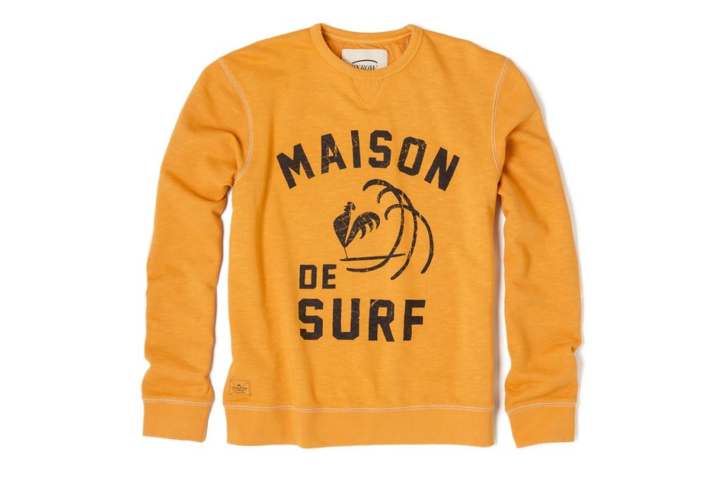 Oxbow présente sa ligne de sweatshirts Printemps 2017