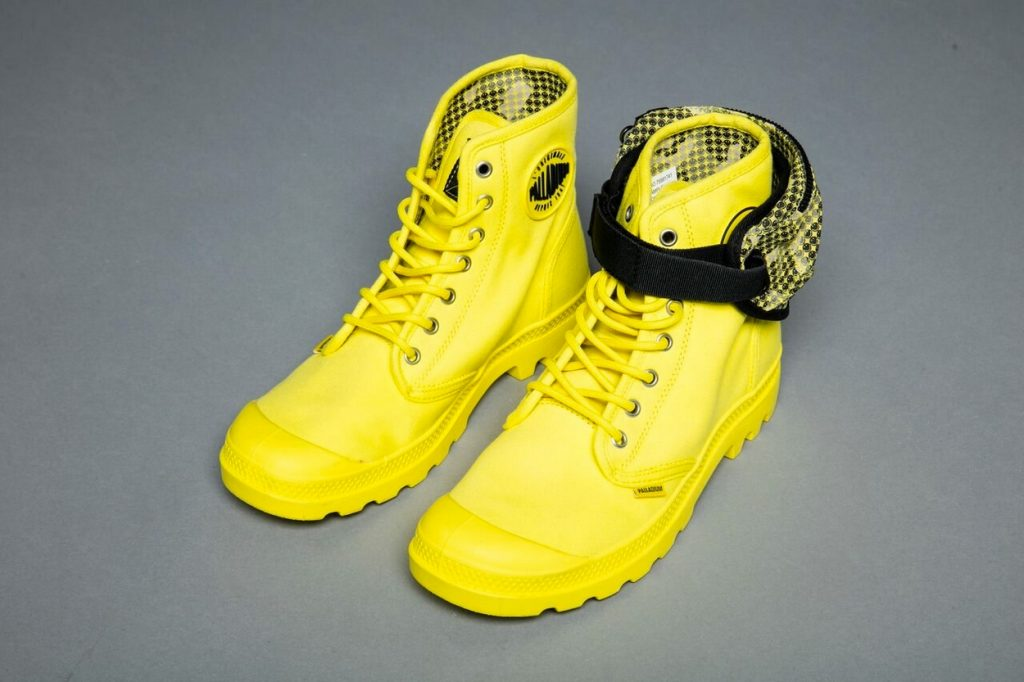 Palladium x Smiley Boots Festival Survival Kit Pack