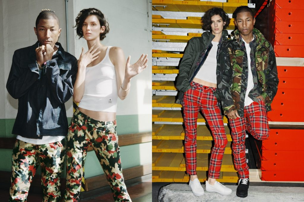 Pharrell and G-Star RAW Launch New SS17 Elwood X25 Collection