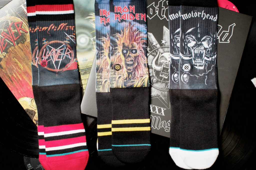 STANCE lance la collection Legends of Metal