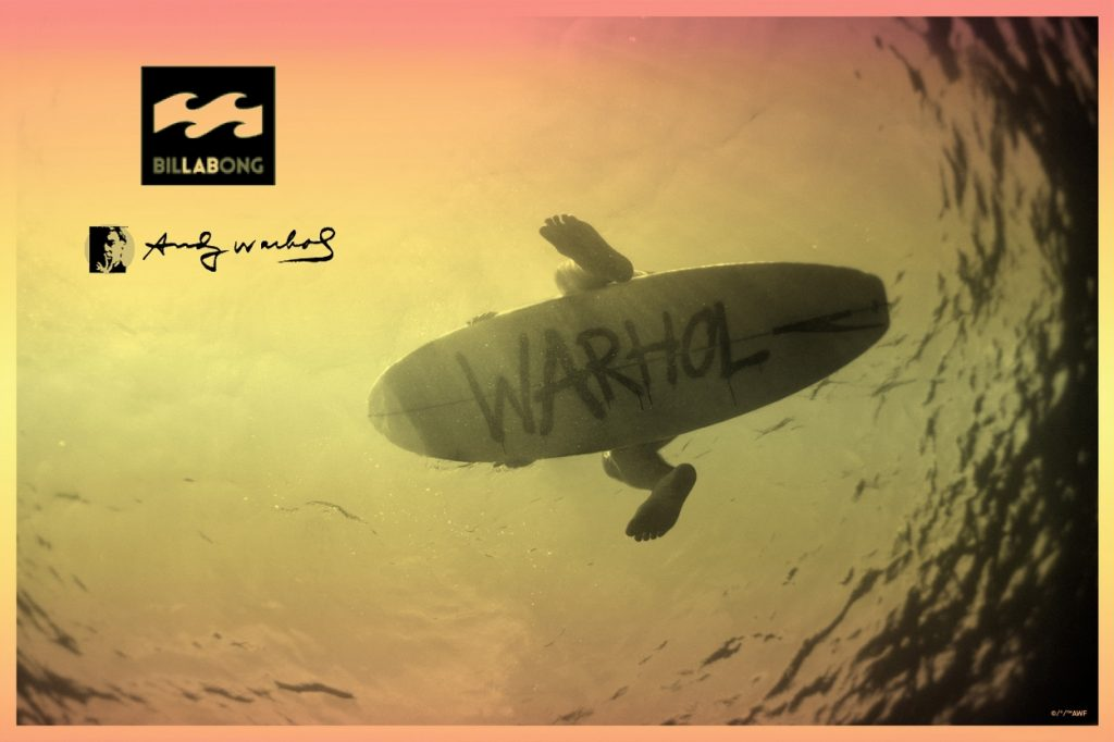 "Collection Warhol x Billabong ""Warhol Surf"""